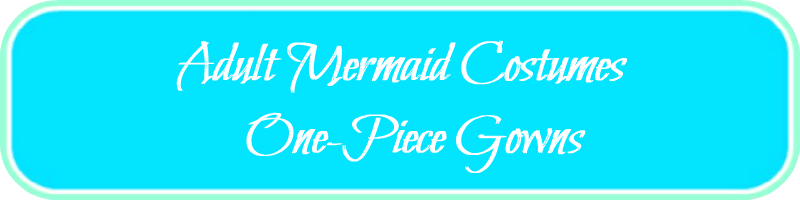 Adult Mermaid Costumes One-Piece Gowns