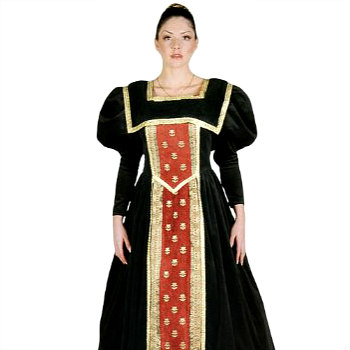 Plus Size Renaissance Queen Costume Gown  sc 1 st  Deluxe Theatrical Quality Adult Costumes & Womenu0027s Plus Size Medieval Dress Costumes | Deluxe Theatrical ...