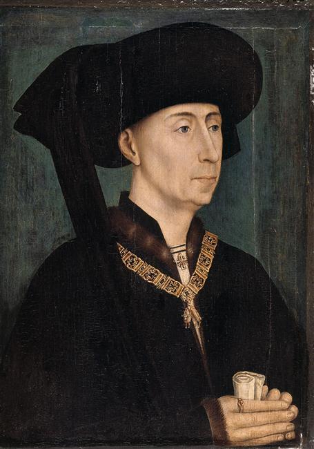 Rogier van der Weyden Painting of Philip the Good
