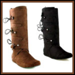 Medieval and Renaissance Men's Costume Boots & Shoes