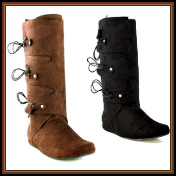 b7bba82d463df Medieval and Renaissance Men's Costume Boots & Shoes | Deluxe ...
