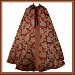 Woman Renaissance Tapestry Cloak