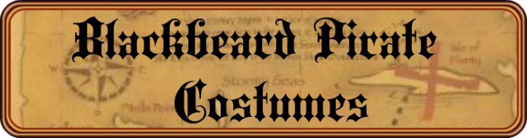 Blackbeard Pirate Costumes Title Banner