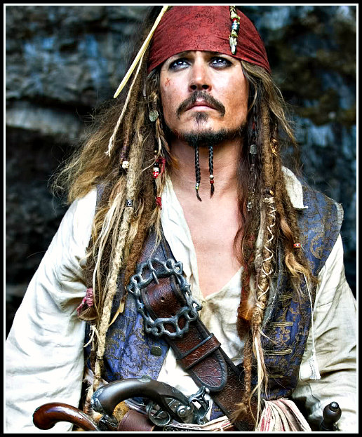 Jack Sparrow Pirates of the Caribbean : On Stranger Tides Costume