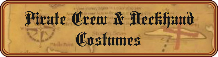 Pirate Crew & Deckhand Costumes Title Banner