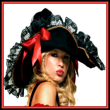e6f67035 Lady Pirate Hats & Lady Pirate Headwear | Deluxe Theatrical Quality ...