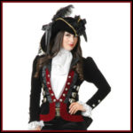 Lady Pirate Coats, Jackets, and Vests