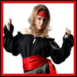 Women's Pirate Blouses Shirts and Tops Intro Image