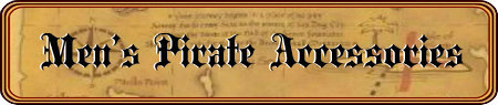 Men's Pirate Accessories