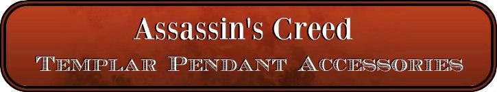 Deluxe Adult Costumes - Assassin's Creed Templar Pendant Accessories