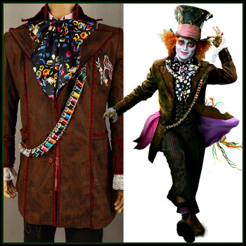 mens mad hatter costumes deluxe theatrical quality