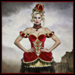 Adult Sexy Red Queen of Hearts Costumes