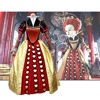 Queen of Hearts Alice in Wonderland Costumes - DeluxeAdultCostumes.com