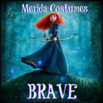 Deluxe Adult Brave Princess Merida Costumes