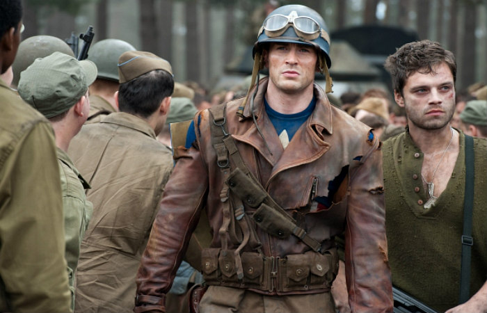 Steve Rogers and Bucky Barnes - DeluxeAdultCostumes.com