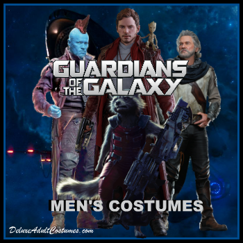 Guardians of the Galaxy Men's Costumes