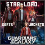 Guardians of the Galaxy Men's Star-Lord Coats and Jackets