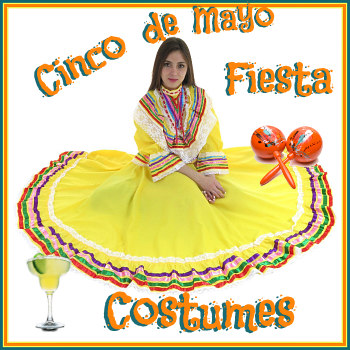 Women Cinco de Mayo Feista Costumes