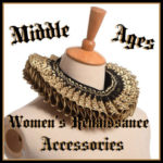 Women's Medieval Renaissance Costume Accessories