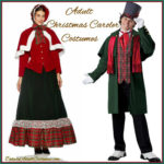 Adult Dickens Christmas Caroler Costumes & Accessories