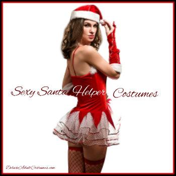 7e105ca77aa Sexy Santa Helper Costumes and Accessories | Deluxe Theatrical ...